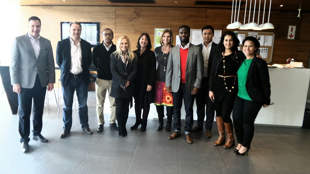 1 year long Investment Analyst Communication Development Programme - Graduation Ceremony, Cape Town